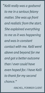 Testimonial from Rachel